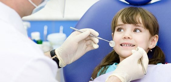 детский прием стоматолога